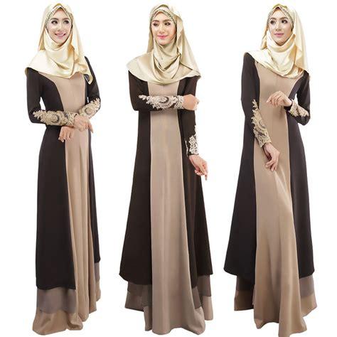 Dress Muslim Zaura new linen kaftan abaya muslim sleeve maxi dress