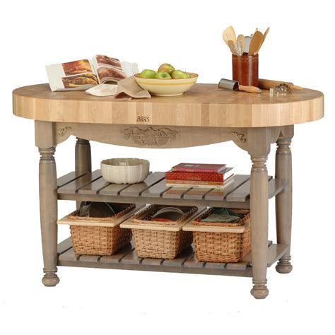 Kitchen Island With Cutting Board Top by Traditional Kitchen Islands Carts Portable Medium Maple