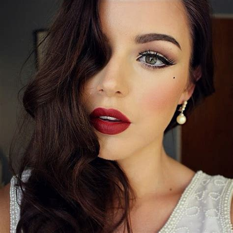 lipstick latest glamour create an old hollywood beauty look with this makeup