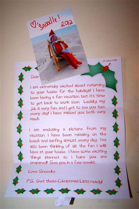 On The Shelf Birthday Letter by 17 Best Images About Holidays On A Shelf
