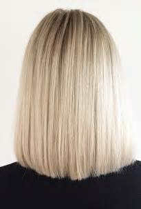 short one length hairstyles blunt blonde bob mane interest
