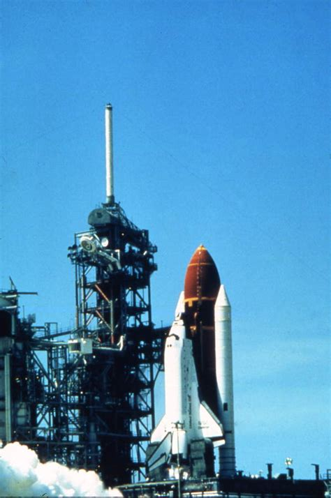the challenger launch florida memory space shuttle challenger on the launch