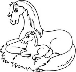 Coloring Pages Of Baby Horses printable coloring pages coloring me