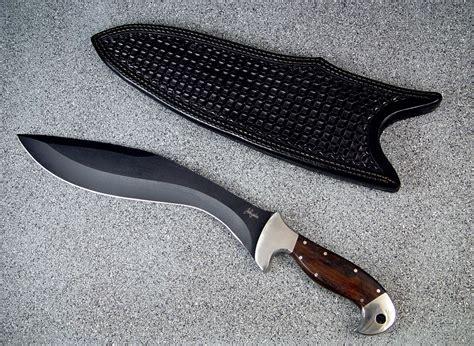 Handmade Kukri - quot phlegra quot handmade custom tactical khukri by fisher