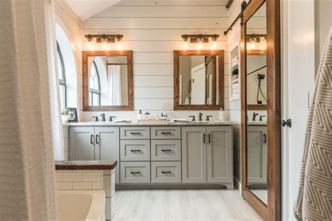 fireclay kitchen cabinet outlet bronze contemporary modern farmhouse bathroom before after irwin construction