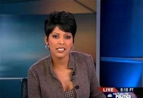 why was tamron hall fired from fox news msnbc anchor was sitting at same table as rep carson when