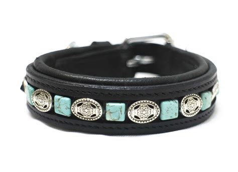 turquoise collar handmade turquoise and silver collar