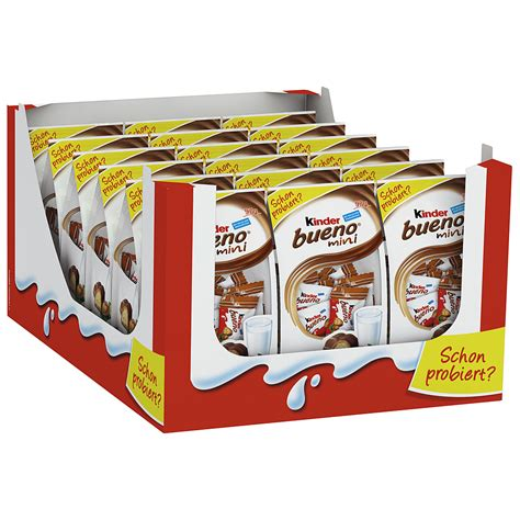 Kinder Bueno Minis Isi 17 kinder bueno mini kaufen im world of shop