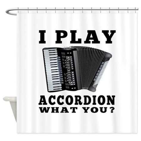 accordion shower curtain i play accordion shower curtain by royalshop4gifts