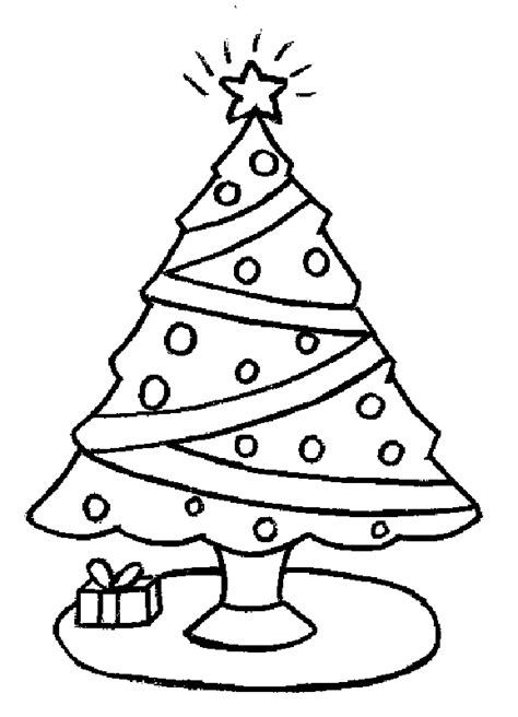 christmas tree with gifts coloring page presents and gifts coloring part 45