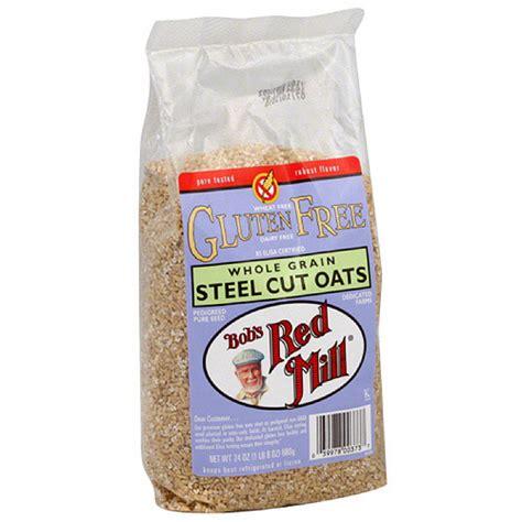 Bob Mill Gluten Free Steel Cut Oat 680gr Murah bob s mill gluten free steel cut oats 24 oz pack of 4 walmart