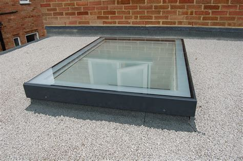 Flat Glass Rooflight Rectangular Rooflights And Glazing Light Roof