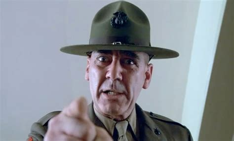 gunnery sergeant r ermey the five most kick r ermey roles ifc