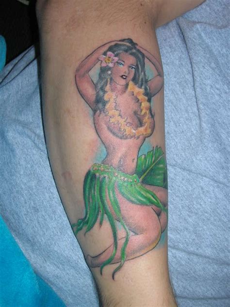 hula girl tattoo vintage hula designs pictures to pin on