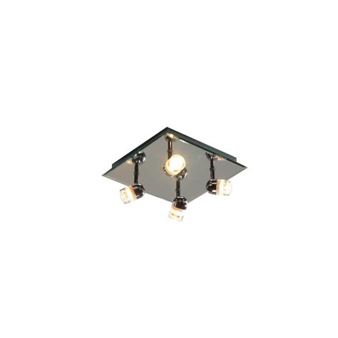 Square Ceiling Light Pur8550 4 Light Square Ceiling Light Ip44 Lighting From The Home Lighting Centre Uk