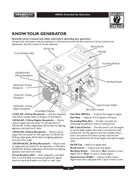 layout xl manual generac starter generator wiring diagram wiring diagram