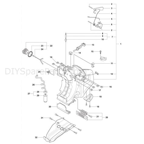 partner k750 parts diagram husqvarna k750 2007 parts diagram page 6
