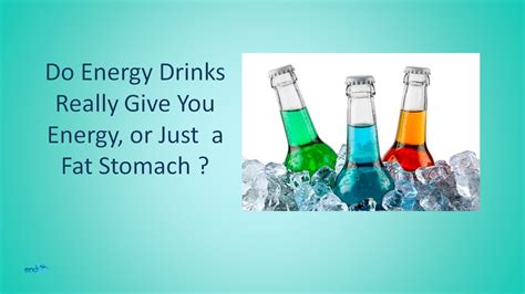 r energy drinks for you do energy drinks really give you energy or just a