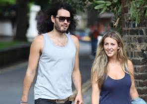 Comedian russell brand to welcome his first child with girlfriend