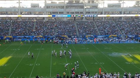 san diego chargers attendance fancred sports the chargers preseason attendance at