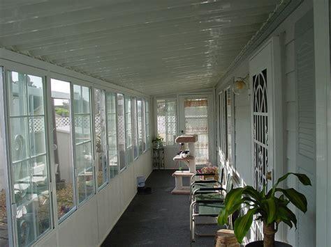 patio enclosure mobile home flickr photo