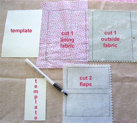 template for a badge card holder sew useful easy fabric card holder all