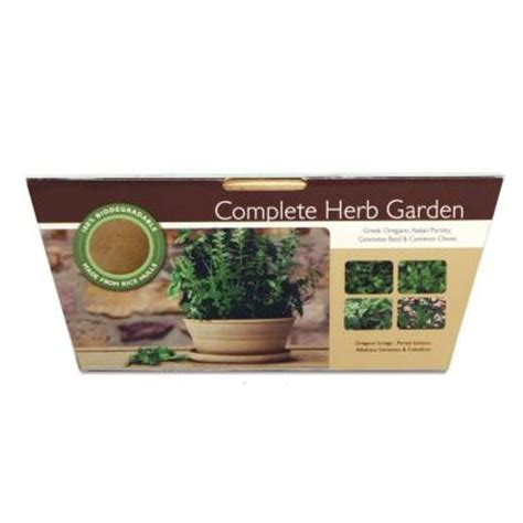 Home Depot Herb Garden by Complete Herb Garden