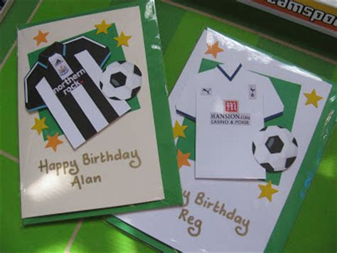 Handmade Football Cards - handmade in israel november 2008