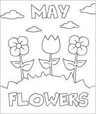 coloring pages may flowers cruces y flores de mayo
