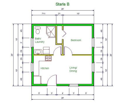 10 x 20 cabin floor plan 20 x 20 cabin plans plans steel shed plans plandlbuild