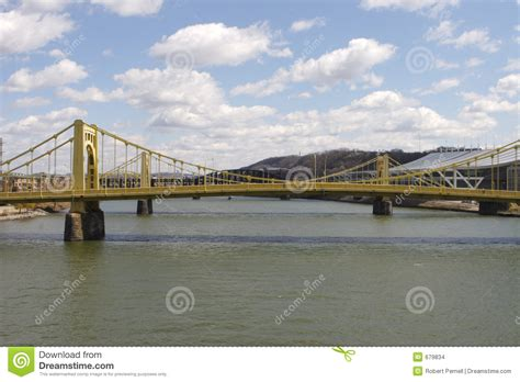 boat graphics pittsburgh pittsburgh bridges stock images image 679834