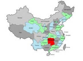 Hunan China Map by Hunan Province Chinafolio