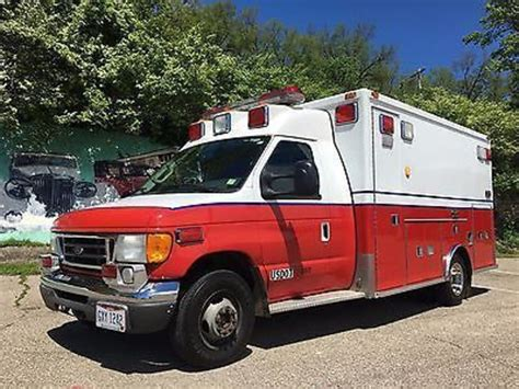 Ford E450 by Ford E450 Ambulance For Sale Used Trucks On Buysellsearch