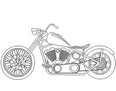 chopper motorcycle coloring pages motorcycle coloring pages coloring pages