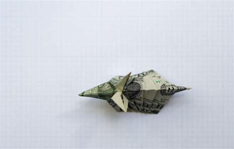 Origami Armadillo - fickett stuff dollar bill origami armadillo