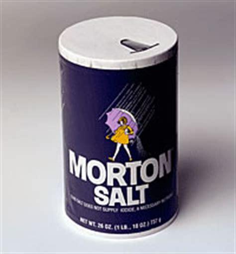 Morton Sea Salt Bromine Detox by What S The Big Deal About Salt Vance Nc