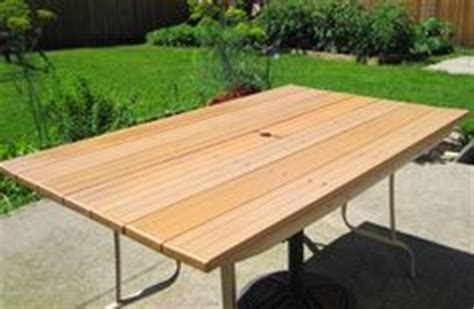 Patio Table Top Replacement Ideas Kregjig Project Outdoor Table By Flynn Top Made