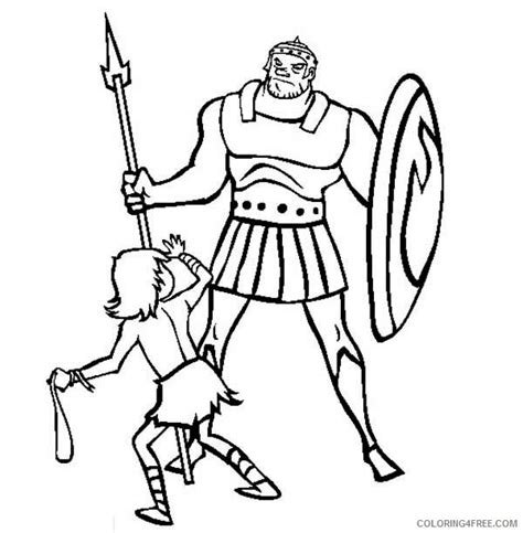 david and goliath coloring pages for toddlers printable david and goliath coloring pages for