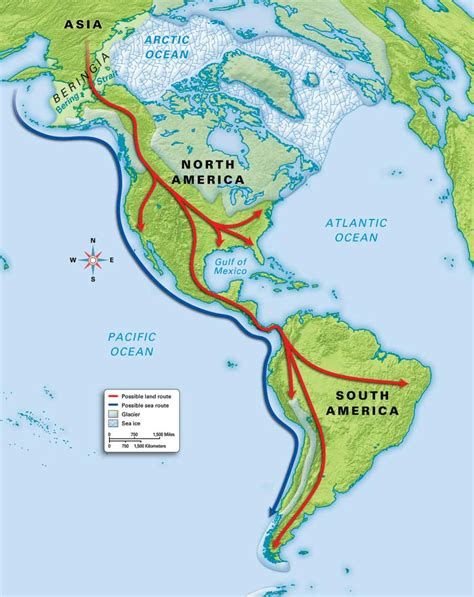 american migration from asia map simon s dna musings february 2014