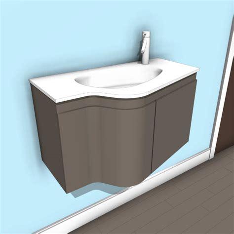 Vanity Roselle by Virtu Usa Revit Families Modern Revit Furniture Models