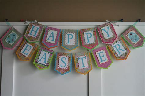 Handmade Banners - 15 awesome handmade easter banner decorations style