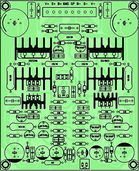 Pcb Audio Yiroshi pcb driver power lifier yiroshi audio circuit diagram and audiophile