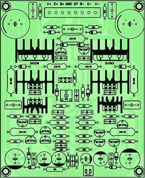 Layout Pcb Yiroshi | pcb driver power amplifier yiroshi audio pinterest