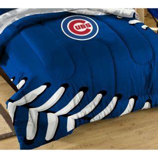 chicago cubs bedding twin xl boy teen dorm grey blue comforter bedding set