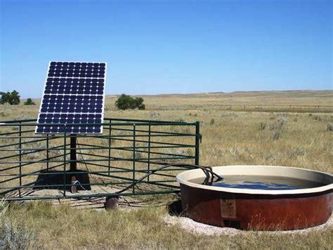 livestock and solar panels rangelands solar water supply for livestock solar water