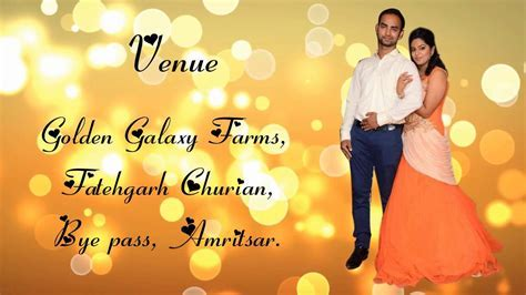 whatsapp wedding invitation V03   YouTube