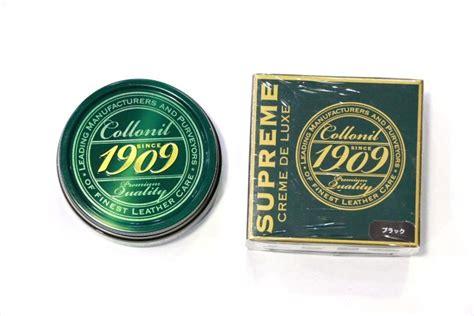 Webe 1909 Seprem コロニル collonil 1909 supreme creme de luxe シュプリームデラックス ブラック