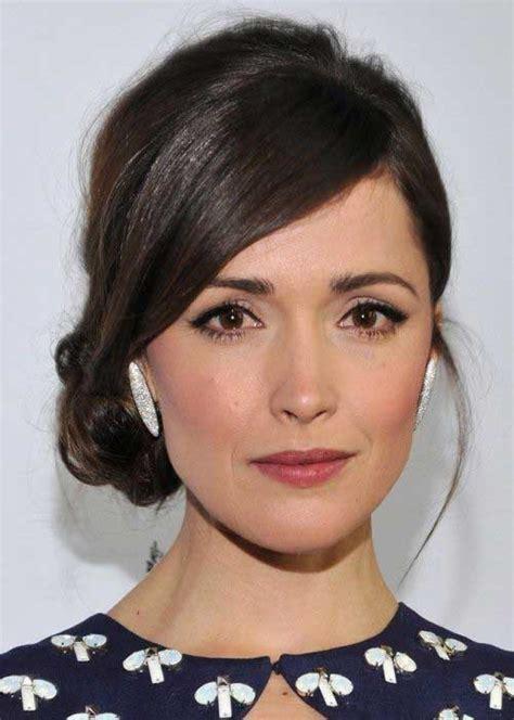 rectangular face long hairstyle bun 37 franjas para testa grande cortes pra cada tipo de rosto
