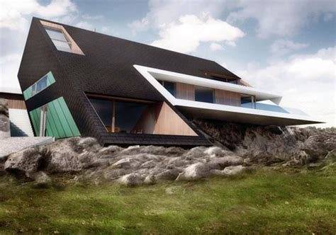 Unique Architecture Concept Edge House By Mobius Architects Amazing Concept Design