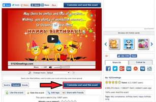 send free ecards birthday cards animated cards via 123greetings 247vibez